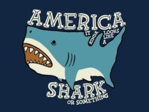 Day 9 7/4/2013: Shopping for Sharks   Shark Dreams