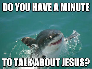 JESUS SHARK WANTS TO SAVE YOU