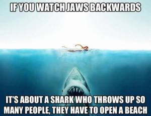 JAWS Backwards