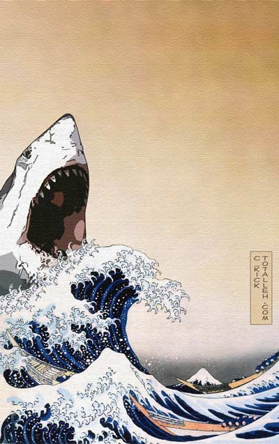 Great White Hokusai
