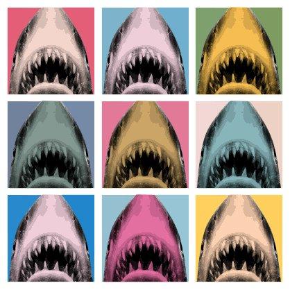 Warhol Jaws