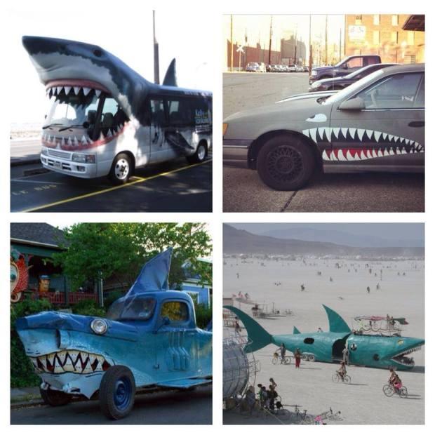 Day 169: 12/12/13: Custom Shark Machines