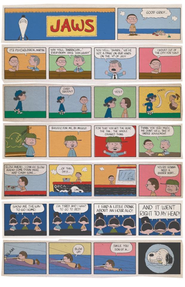 Day 171 12/13/13: JAWS meets Peanuts