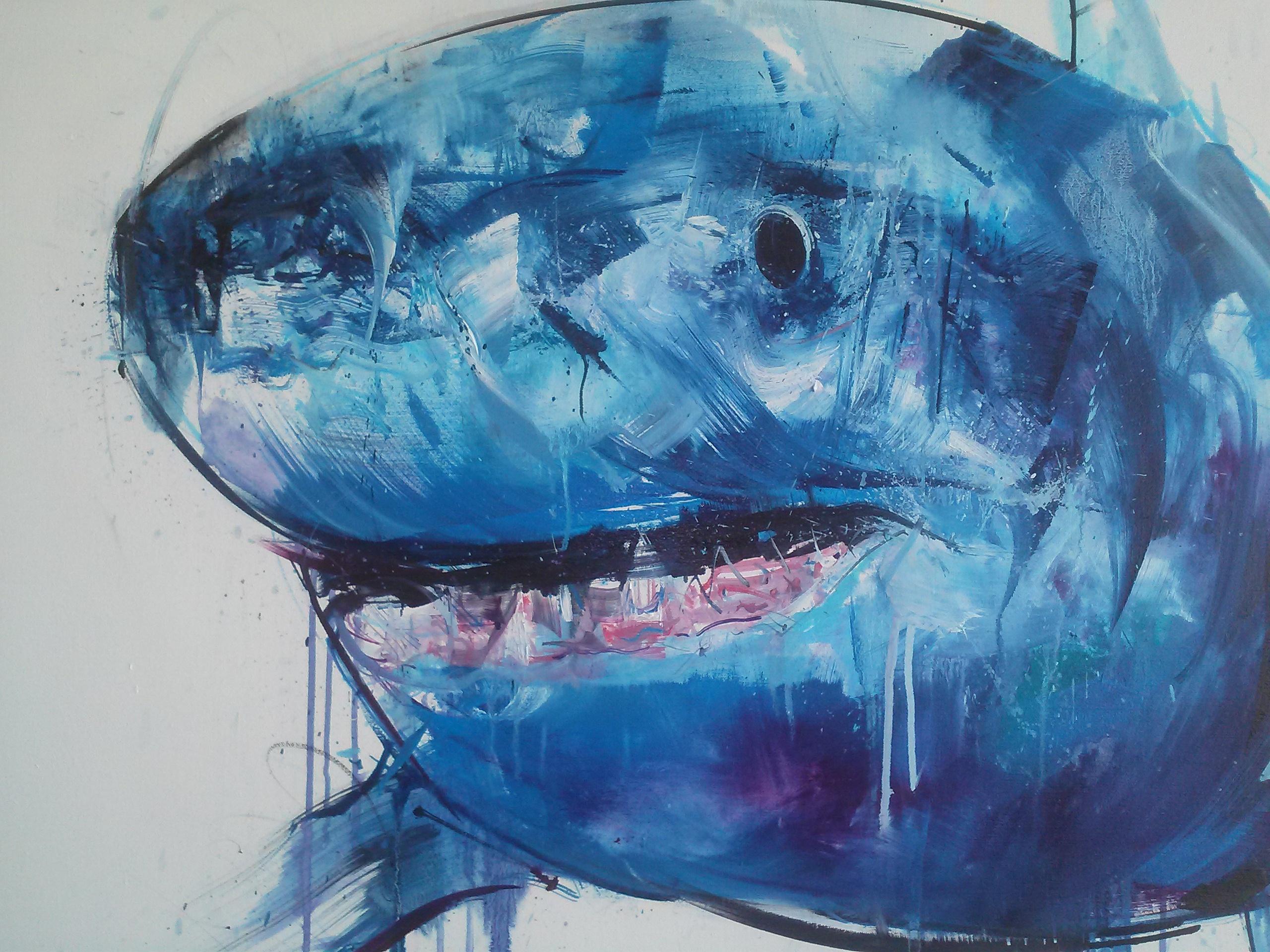 Ed Ruscha Art Shark Dreams